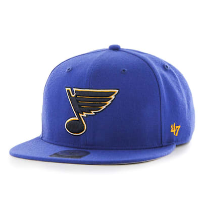 (47 Brand St. Louis Blues Sure Shot Captain Snapback Cap)
