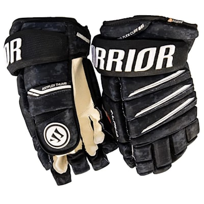 Camo Black (Warrior Alpha Pro Hockey Gloves - Junior)