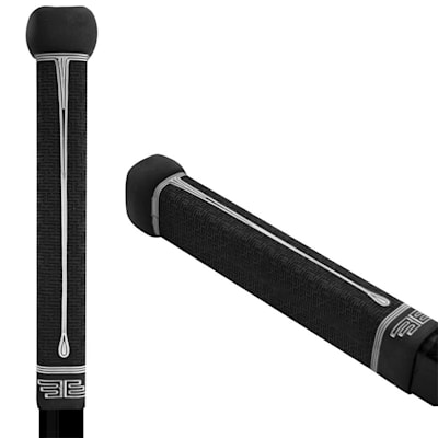Black/White (BUTTENDZ Flux Z Hockey Stick Grip)