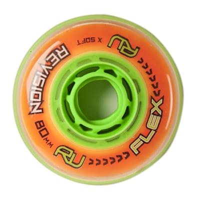 Outside (Revision Revision Flex Indoor Inline Hockey Wheel)