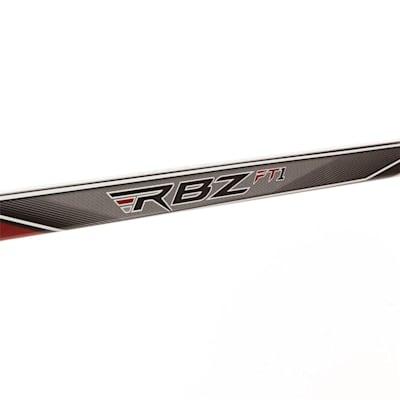 Shaft View (CCM RBZ FT1 Composite Hockey Stick - Senior)