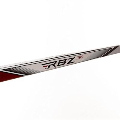 Shaft View (CCM RBZ 380 Grip Composite Hockey Stick - Intermediate)
