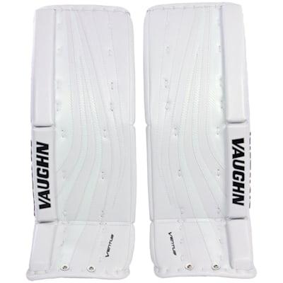 White (Vaughn Ventus SLR Pro Carbon Goalie Leg Pads - Senior)