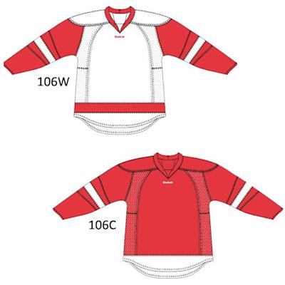 RBK 25P00 Detroit Red Wings (Reebok 25P00 NHL Edge Gamewear Hockey Jersey - Detroit Red Wings - Junior)