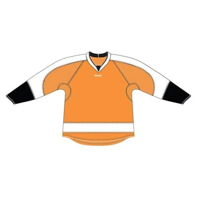 Orange (Reebok 25P00 NHL Edge Gamewear Hockey Jersey - Philadelphia Flyers - Senior)