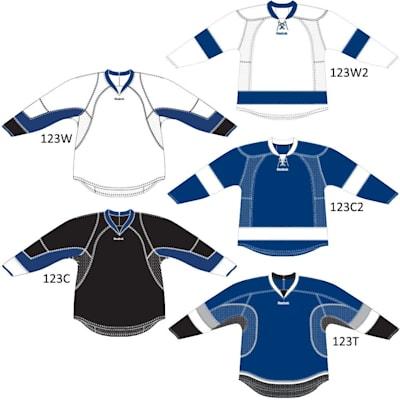 RBK 25P00 Tampa Bay Lightning (Reebok 25P00 NHL Edge Gamewear Hockey Jersey - Tampa Bay Lightning - Junior)