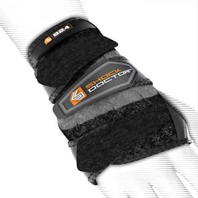 Shock Doctor 824 Hockey 3-Strap Wrist Support (Shock Doctor 824 Hockey 3-Strap Wrist Support)