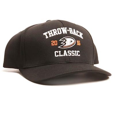 Aufeis Anaheim Throwback Flex Fit (Anaheim Throwback Flex Fit Hockey Hat)