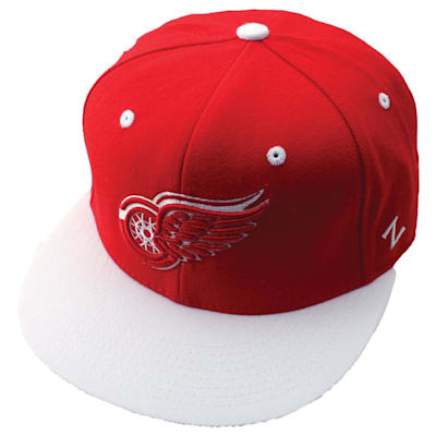 Forecheck 32/5 Fitted Hat DET (Zephyr Forecheck 32/5 Fitted Hockey Hat - Detroit Red Wings)