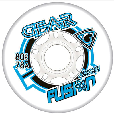 Gear Fusion Multi-Surface Inline Hockey Wheel (Gear Fusion Multi-Surface Inline Hockey Wheel - White - 2015)