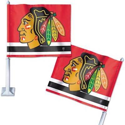 WinCraft Hockey Car Flag - Chicago Blackhawks (Wincraft Hockey Car Flag - Chicago Blackhawks)