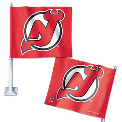 Car Flag NJD (Wincraft Hockey Car Flag - New Jersey Devils)