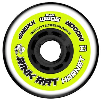 Rink Rat Hornet Inline Hockey Wheels - Yellow/Blac (Rink Rat Hornet Inline Hockey Wheels - Yellow/Black)