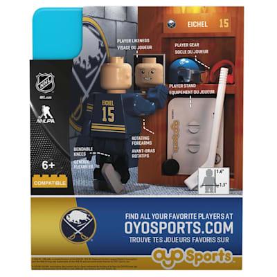 OYO Jack Eichel Minifigure (OYO Sports Jack Eichel Minifigure - Buffalo Sabres)