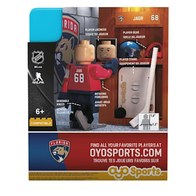 OYO Jaromir Jagr G3 (OYO Sports Jaromir Jagr G3 Minifigure - Florida Panthers)