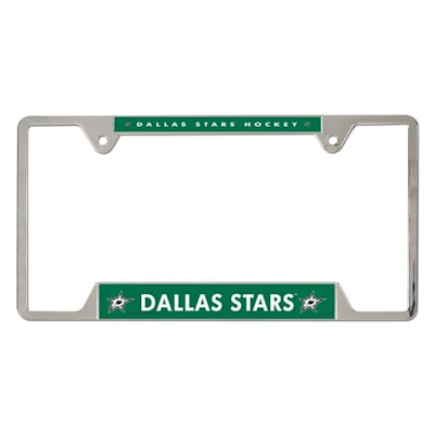 Stars (Wincraft Metal Hockey License Plate Frame)