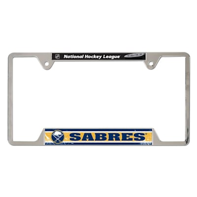 Metal License Frame BUF (Wincraft Metal Hockey License Plate Frame)