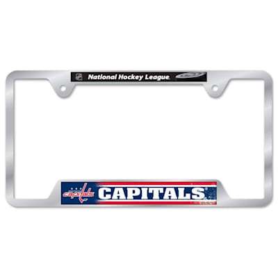 Metal License Frame WSH (Wincraft Metal Hockey License Plate Frame)