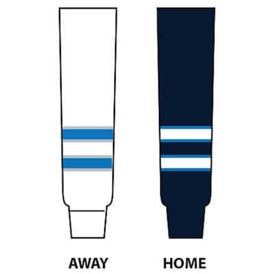(NHL Team Hockey Socks - Winnipeg Jets - Intermediate)