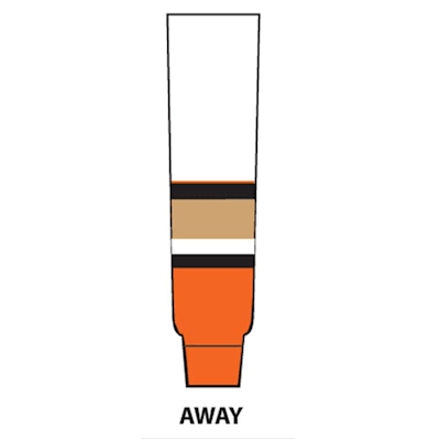 Away - White (NHL Team Hockey Socks - Anaheim Ducks - Junior)
