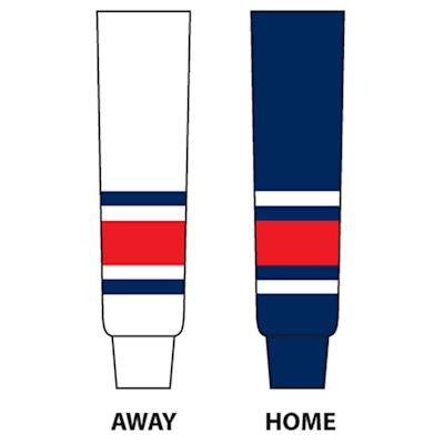 NHL Team Socks CBJ (NHL Team Hockey Socks - Columbus Blue Jackets - Senior)