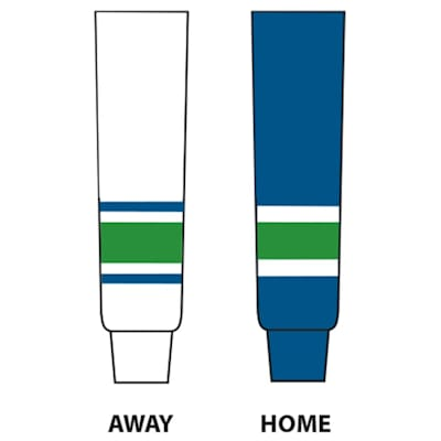 Dogree NHL Team Hockey Socks - Vancouver (NHL Team Hockey Socks - Vancouver Canucks - Intermediate)