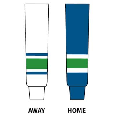 NHL Team Socks VAN (NHL Team Hockey Socks - Vancouver Canucks - Senior)