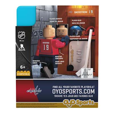 G3 Minifigure - Backstrom WAS (OYO Sports Nicklas Backstrom G3 Minifigure - Washington Capitals)