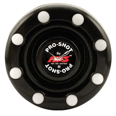 Black (IDS Pro Shot Inline Hockey Puck)