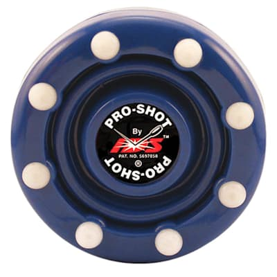 Blue (IDS Pro Shot Inline Hockey Puck)