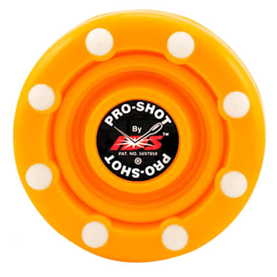 Fluorescent Orange (IDS Pro Shot Inline Hockey Puck)