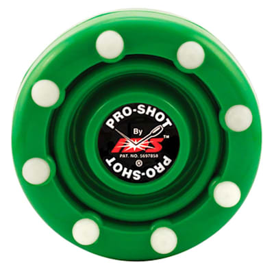 Green (IDS Pro Shot Inline Hockey Puck)