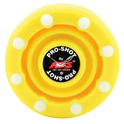 Yellow (IDS Pro Shot Inline Hockey Puck)