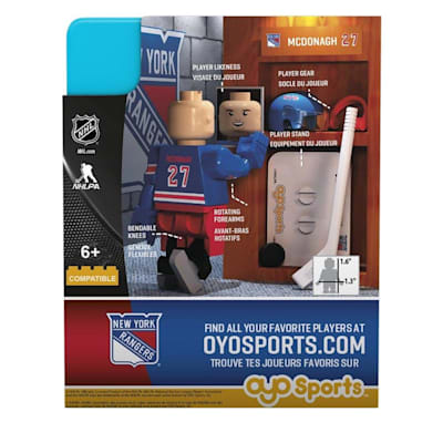 G3 Minifigure - McDonagh NYR (OYO Sports Ryan McDonagh G3 Minifigure - New York Rangers)