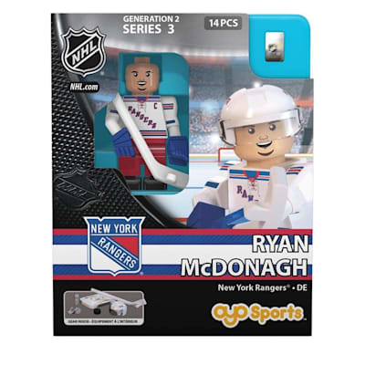 Ryan Mcdonagh Minifigure NYR (OYO Sports Ryan Mcdonagh Minifigure - New York Rangers)