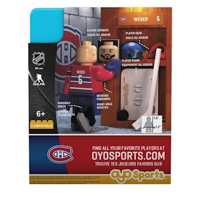 G3 Minifigure - Weber  MON (OYO Sports Shea Weber G3 Minifigure - Montreal Canadiens)