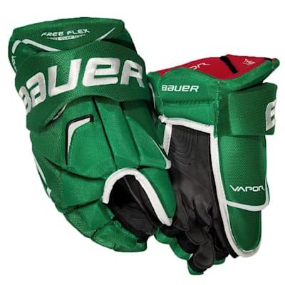 Kelly Green (Bauer Vapor Xteam Gloves - Senior)