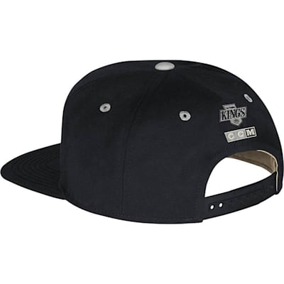 CCM VG86Z Flat Brim Snapback Hockey Hat (CCM Flat Brim Snapback Hockey Hat - Los Angeles Kings)