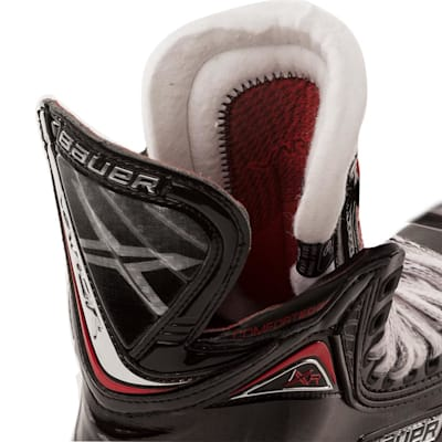 Tendon and Tongue (Bauer Vapor 1XR Inline Hockey Skates - 2017 Model - Senior)