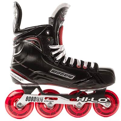 Outside View (Bauer Vapor XR600 Inline Hockey Skates - 2017 Model - Junior)