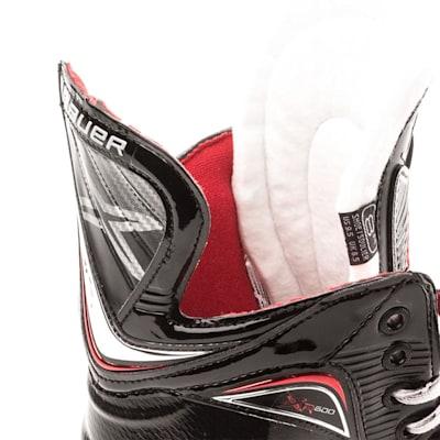 Tendon and Tongue (Bauer Vapor XR600 Inline Hockey Skates - 2017 Model - Junior)