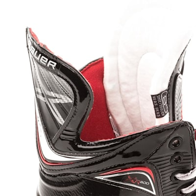 Tendon and Tongue (Bauer Vapor XR600 Inline Hockey Skates - 2017 Model - Senior)