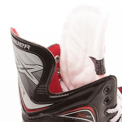 Tendon and Tongue (Bauer Vapor XR400 Inline Hockey Skates - 2017 Model - Junior)