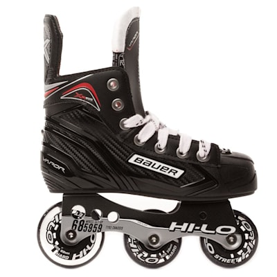 Outside View (Bauer Vapor XR300 Inline Skates - 2017 Model - Youth)