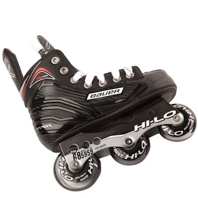 Chassis View (Bauer Vapor XR300 Inline Skates - 2017 Model - Youth)
