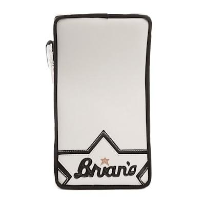 Heritage Blocker - Front (Brians Heritage Goalie Blocker - Senior)