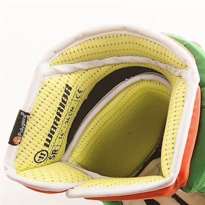 (Warrior Alpha Pro Irish Hockey Gloves - Junior)