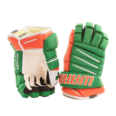 Irish (Warrior Alpha Pro Irish Hockey Gloves - Junior)