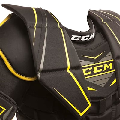 Collar Bone Closeup (CCM Premier R1.5 Goalie Chest And Arm Protector - Junior)