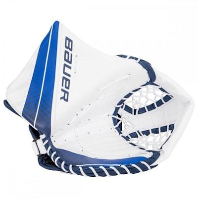 White/Navy (Bauer Vapor X700 Catch Glove - Junior)